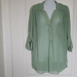 Women's Green Blouses